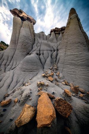 Climbing Your Way Up - Makoshika State Park, Glendive, Eastern Montana