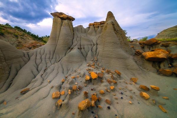 Castle Of Rocks - Makoshika State Park, Glendive, Eastern Montana