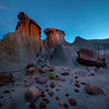 Left Over From Another Planet - Makoshika State Park, Glendive, Eastern Montana