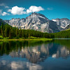 Reflections On Many Glacier - Swiftcurrent Lake, Many Glacier, Glacier National Park, Montana