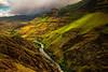 Looking West In The Imnaha Canyon Wallowa County, Oregon