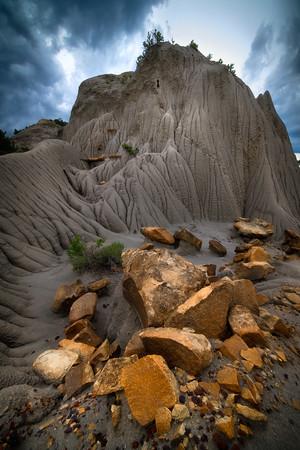 Fortress Of Scales - Makoshika State Park, Glendive, Eastern Montana