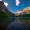 Solitude At Grinnell Lake - Grinnell Lake, Glacier National Park, Montana