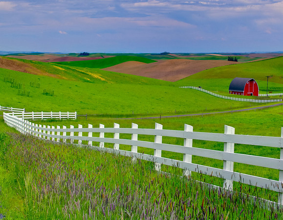 Images from the Palouse in Idaho