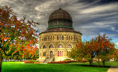 Nott Memorial Building at Union College, Schenectady, NY