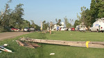 Damage from EF-1 Tornado that struck on 2014-06-30 (Earlville, IL USA)