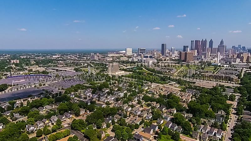 Atlanta Skyline (Atlanta, GA USA)