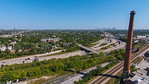 Kennedy & Edens Expressway Junction
