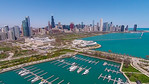 Burnham Harbor (Chicago, IL USA)