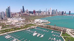 Northerly Island, Museum Campus & Chicago Skyline (Chicago, IL USA)