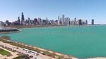 Northerly Island, Museum Campus & Chicago Skyline (Chicago, IL USA)