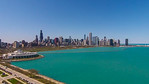 Shedd Aquarium & Chicago Skyline (Chicago, IL USA)