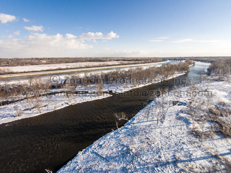 Des Plaines River (Lockport, IL USA)