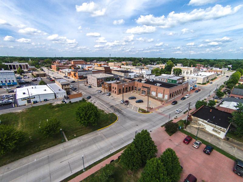 Downtown Morris (Morris, IL USA)