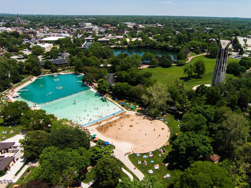Centennial Beach & Carillon (Naperville, IL USA)