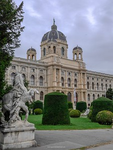 The Natural History Museum. Vienna. Austria.