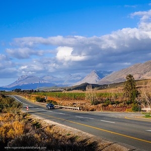 Route 62 and Tradouw Valley near Barrydale. South Africa.