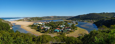 The Island (Die Eiland) Groot Brak Rivier (Great Brak River village). Garden Route. Western Cape. South Africa