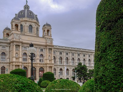 The Natural History Museum. Vienna. Austria.