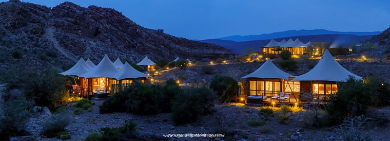 Dwyka Camp at Sanbona Wildlife Reserve in the Karoo, South Africa