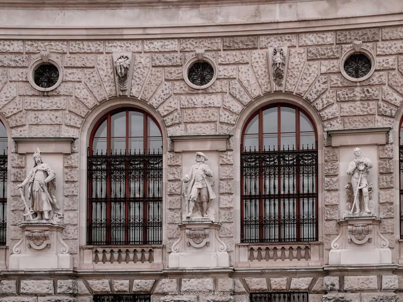 Detail of Ephesos-Museum der Antikensammlung des Kunsthistorischen Museums in Vienna Austria.