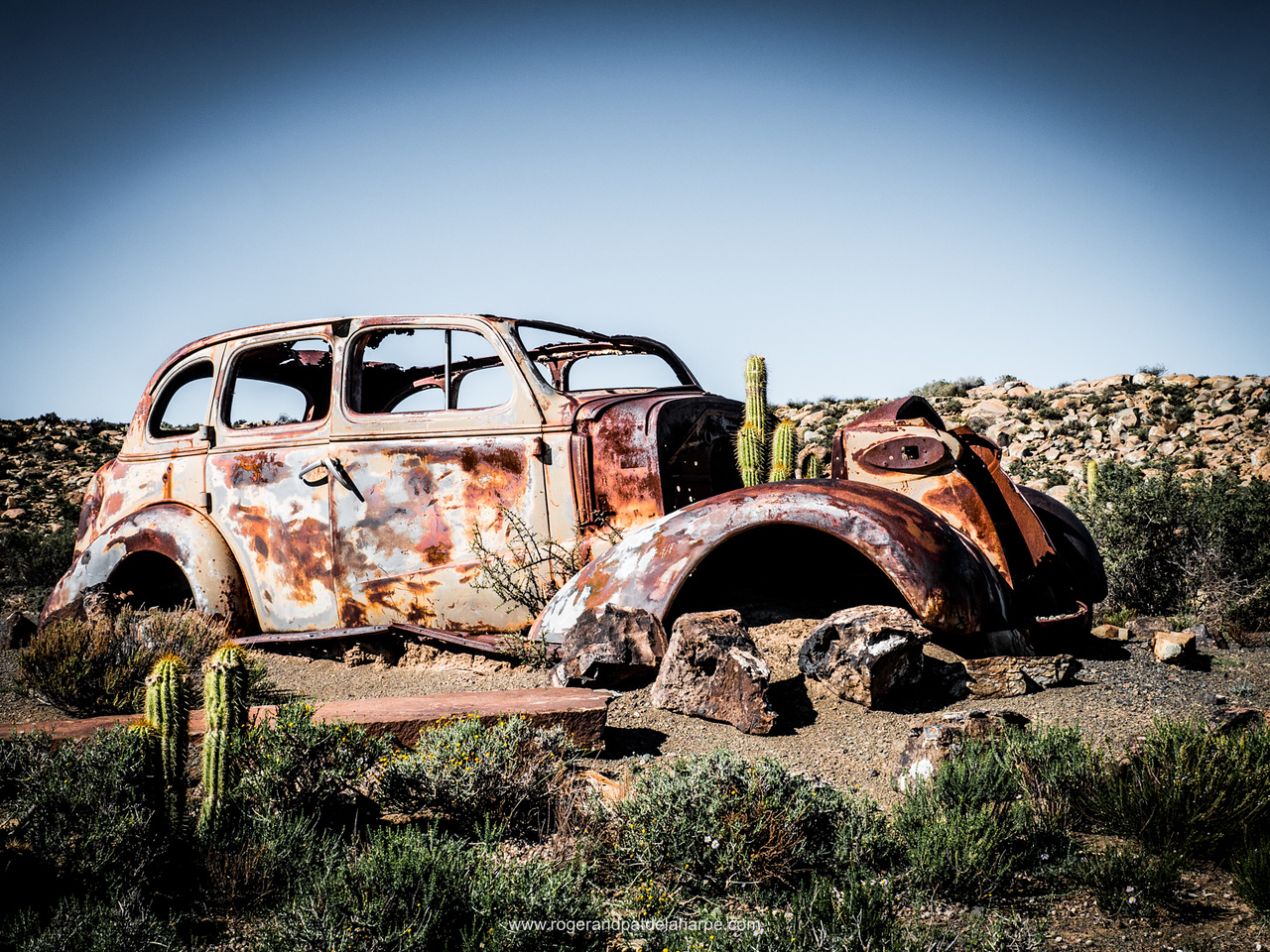 Old Car. Northern Cape. South Africa.