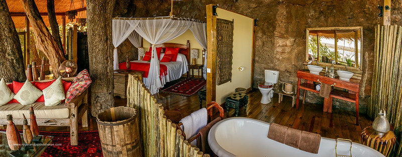 The Treehouse at Tongabezi  Lodge. Victoria Falls. Livingstone. Zambia