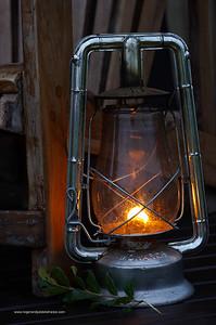 Lantern at Plains Camp. Kruger National Park. Mpumalanga. South Africa.