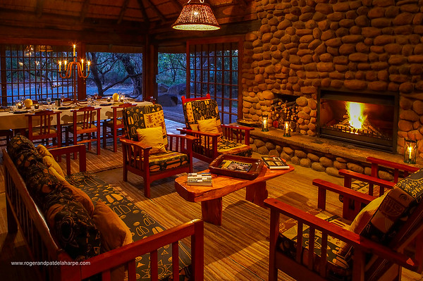View of the lounge. Isibindi Lodge. Elandskraal. kwaZulu-Natal. South Africa