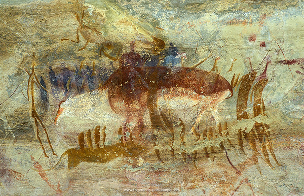 San or Bushman Rock Art