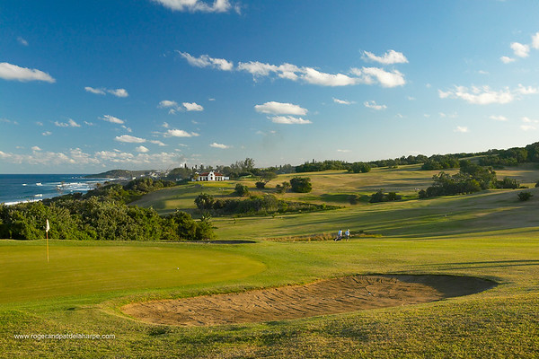 View of the golf course at the Umdoni Country Club. Pennington. South Coast. KwaZulu-Natal. South Africa.