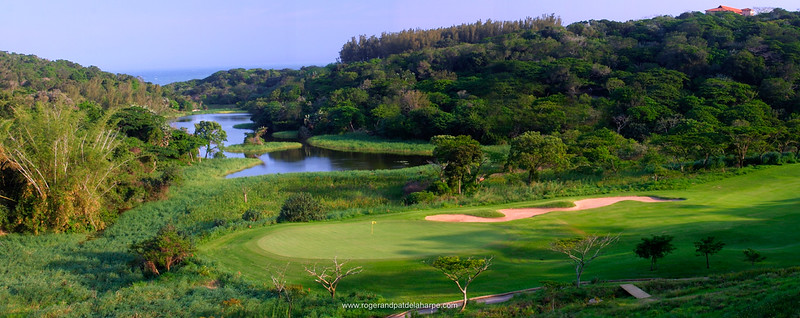 13th Hole at Zimbali Golf Estate. Balito. KwaZulu-Natal. South Africa