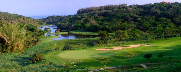 13th Hole at Zimbali Golf Estate. Balito. KwaZulu-Natal. South Africa