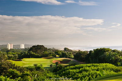 Image No: 461034 View north towards Umhlanga from the 2nd tee at the Durban Country Club Golf Course Durban. KwaZulu Natal. South Africa.