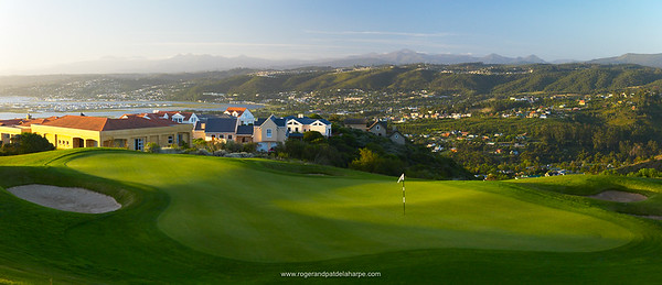 Image No: 24618-9DS View of Phezula Golf Course. Knysna. Garden Route. Western Cape, South Africa.