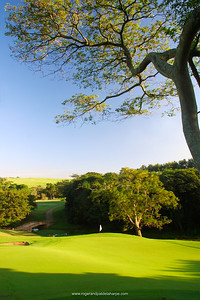4th Hole at Selborne Golf Course. KwaZulu-Natal. South Africa