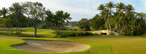 View of the South Broom golf course. South Coast. KwaZulu-Natal. South Africa.