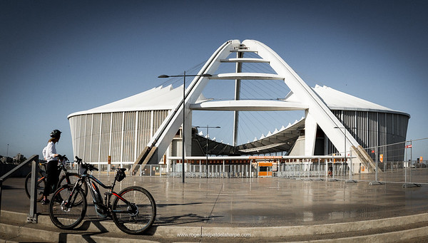 The Haibikes at Moses Mabhida Stadium. Durban. KwaZulu Natal. South Africa