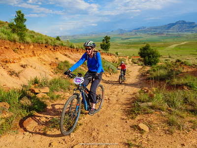 Mountainbiking in Northern KwaZulu Natal Drakensberg. South Africa