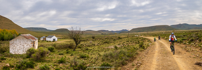 Mountain biking near Nieu Bethesda. Eastern Cape. South Africa