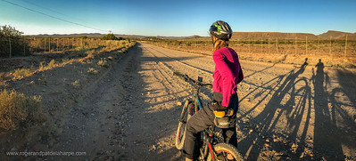 Mountain biking. Prince (Prins) Albert. Western Cape. South Africa
