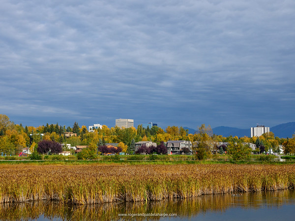 View of Anchorage. Alaska. United States of America