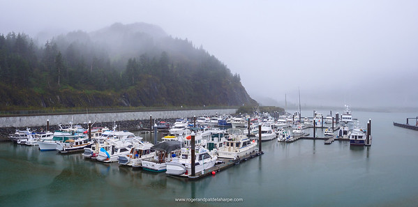 Whittier small craft harbour. Alaska. United States of America