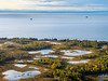 Aerial view of Cook Inlet. South Central Alaska. United States of America (USA).