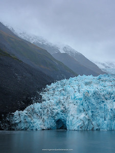 Barry Glacier. Barry Arm. Prince William Sound. Near Whittier. Alaska. United States of America.