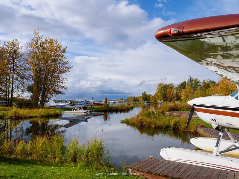 Lake Hood airport. Anchorage. Alaska. United States of America
