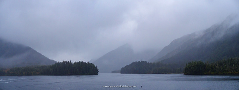 View. Prince William Sound. Near Whittier. Alaska. United States of America.