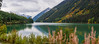 View of Seton Lake. Near Lillooet. British Columbia. Canada.