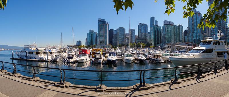 Harbour views. Vancouver. British Columbia. Canada.