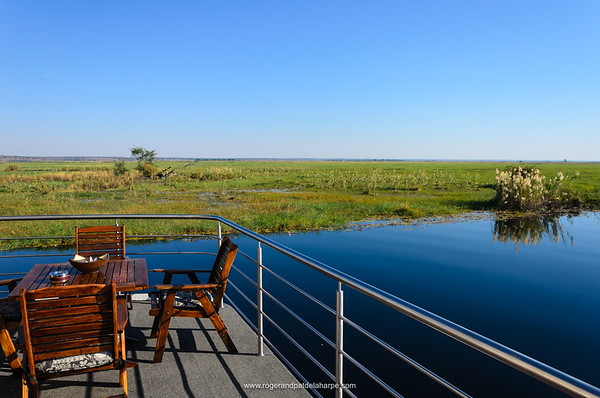 The Pride of the Zambezi cruise boat. Chobe National Park. Botswana